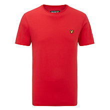 Buy Lyle & Scott Crew Neck Cotton T-Shirt Online at johnlewis.com