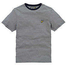 Buy Lyle & Scott Fine Stripe T-Shirt Online at johnlewis.com