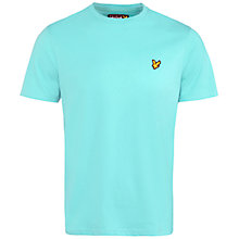 Buy Lyle & Scott Crew Neck T-Shirt, Green Online at johnlewis.com