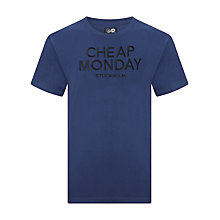 Buy Cheap Monday Bruce Stockholm T-Shirt Online at johnlewis.com