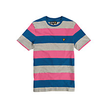 Buy Lyle & Scott Stripe Crew Neck T-Shirt Online at johnlewis.com