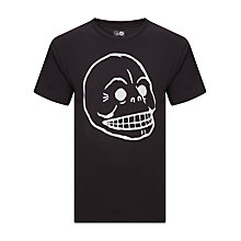Buy Cheap Monday Bruce Skull T-Shirt Online at johnlewis.com