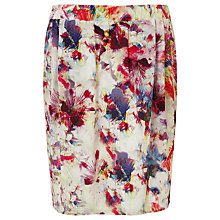 Buy COLLECTION by John Lewis Dig Print Silk Skirt, Multi Online at johnlewis.com