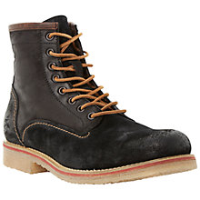 Buy Bertie Casters Leather Work Boots Online at johnlewis.com