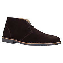 Buy KG by Kurt Geiger Arliz Suede Desert Boots Online at johnlewis.com