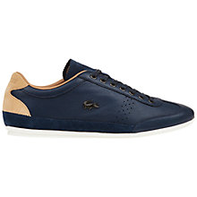 Buy Lacoste Misano 34 Leather Trainers Online at johnlewis.com