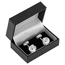 Buy Reiss Magpie Knot Cufflinks, Silver Online at johnlewis.com