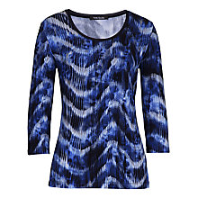 Buy Betty Barclay Graphic Print T-Shirt, Dark Blue Online at johnlewis.com