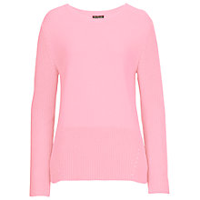 Buy Betty Barclay Pearl Knit Cotton Jumper, Rose Online at johnlewis.com