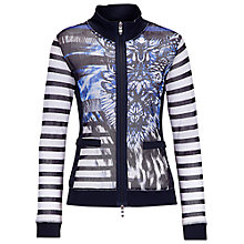 Buy Betty Barclay Mesh Print Jacket, Blue Online at johnlewis.com