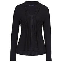 Buy Betty Barclay Edge to Edge Cardigan, Black Online at johnlewis.com