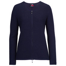 Buy Betty Barclay Long Sleeve Waffle Cardigan, Night Sky Online at johnlewis.com