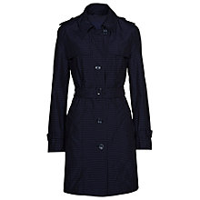 Buy Betty Barclay Spot Trench Raincoat, Dark Blue Online at johnlewis.com