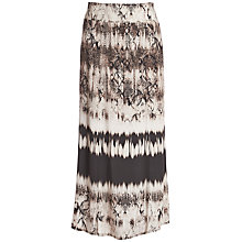 Buy Betty Barclay Snakeskin Print Skirt, Black/Taupe Online at johnlewis.com