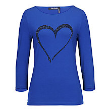Buy Betty Barclay Adria T-Shirt, Blue Online at johnlewis.com