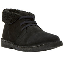 Buy Bertie Pallie Lined Suede Desert Boots Online at johnlewis.com