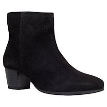 Buy Carvela Tia Suede Block Heeled Ankle Boots Online at johnlewis.com