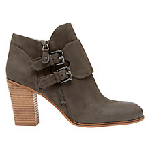 Buy Mint Velvet Kelly Nubuck Ankle Boots, Grey Online at johnlewis.com