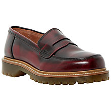 Buy Bertie Lacing Leather Penny Loafers Online at johnlewis.com
