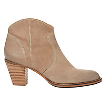 Buy Mint Velvet Eva Leather Ankle Boots Online at johnlewis.com
