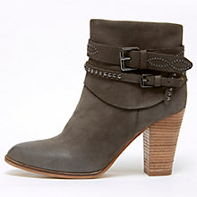 Buy Mint Velvet Amber Leather Stud Ankle Boots, Mole Online at johnlewis.com