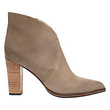 Buy Mint Velvet Freya Leather Ankle Boots, Mole Online at johnlewis.com