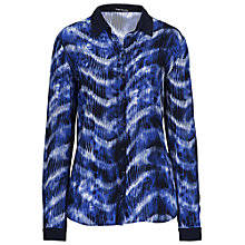 Buy Betty Barclay Splodge Print Shirt, Dark Blue Online at johnlewis.com