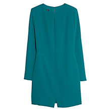Buy Mango Cut-Out Detail Dress, Green Online at johnlewis.com