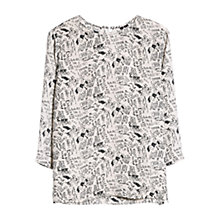 Buy Mango Graffiti Print Blouse Online at johnlewis.com
