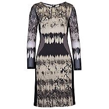 Buy Betty Barclay Snake Print Dress, Black/Taupe Online at johnlewis.com