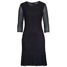 Buy Betty Barclay Three-Quarter Sleeve Lace Dress, Black Online at johnlewis.com