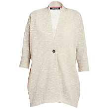 Buy Betty Barclay Oversized Cardigan, Grey/Cream Online at johnlewis.com