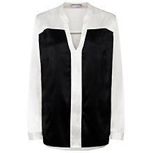 Buy Fenn Wright Manson Silk Tamara Shirt, Monochrome Online at johnlewis.com