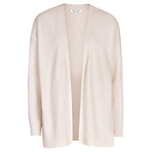 Buy Reiss Cashmere Cardigan, Rosewater Online at johnlewis.com