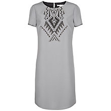 Buy Fenn Wright Manson Gina Dress, Grey / Black Online at johnlewis.com