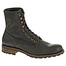 Buy Wolverine Hartmann Leather Lace-Up Boots Online at johnlewis.com