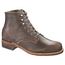 Buy Wolverine 1000 Mile Original Lace-Up Leather Boots Online at johnlewis.com