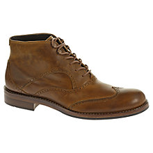 Buy Wolverine Wesley Lace-Up Leather Brogue Boots Online at johnlewis.com