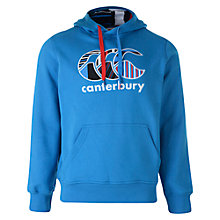 Buy Canterbury of New Zealand Core Logo OTH Hoodie, Blue Online at johnlewis.com