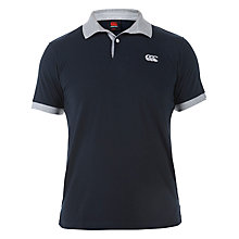Buy Canterbury of New Zealand Loop Polo Shirt, Black Online at johnlewis.com