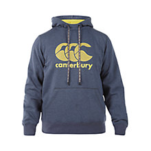 Buy Canterbury of New Zealand Core Logo Hoodie, Grey Online at johnlewis.com
