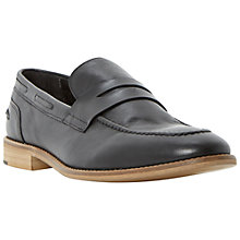 Buy Bertie Ramone Apron Detail Leather Loafers Online at johnlewis.com