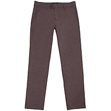 Buy Ted Baker Slimly Slim Fit Brushed Cotton Trousers Online at johnlewis.com