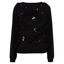 Buy Coast Osake Knit Top, Black Online at johnlewis.com