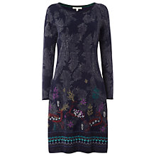 Buy White Stuff Deer Fable Dress, Irish Blue Online at johnlewis.com