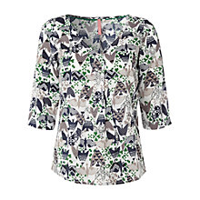 Buy White Stuff Flynn Top, Milk White Online at johnlewis.com