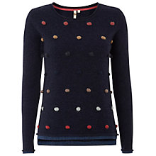 Buy White Stuff Wilderness Spot Jumper, Nightshade Online at johnlewis.com