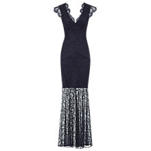 Buy Reiss Ambrosia Floral Lace Maxi Dress, Midnight Online at johnlewis.com