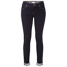 Buy White Stuff Minny Selvedge Jeans, Dark Denim Online at johnlewis.com