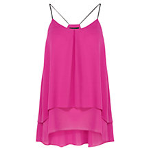 Buy Coast Rasputin Camisole Top, Pink Online at johnlewis.com